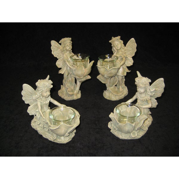 Fairy Candle Holders (Set of 4)