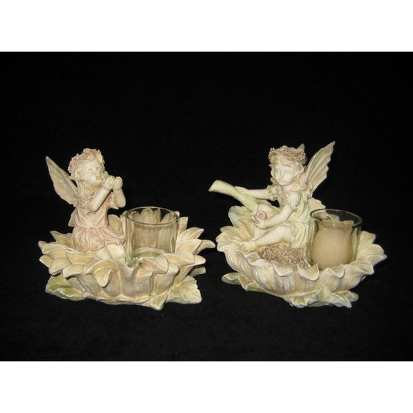 Fairy Candle Holders (Set of 2)