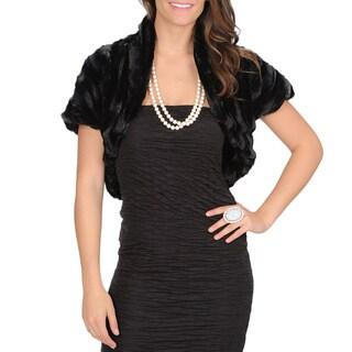 Isabella Rodriguez Women's Faux Fur Bolero