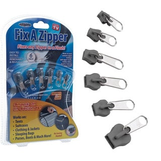 Fix A Zipper As Seen On TV (Pack of 6)