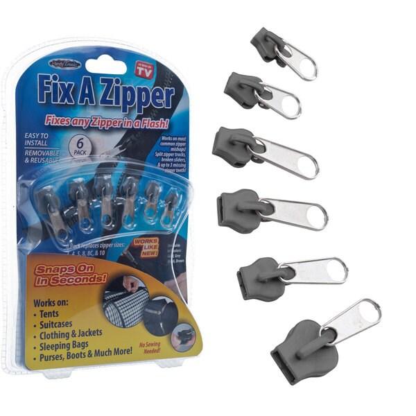 Fix A Zipper As Seen On TV (Pack of 6)