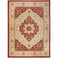Heriz Cream/Red Area Rug