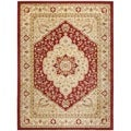 Heriz Cream/ Red Rug