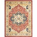 Heriz Red/ Cream Rug