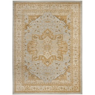 Safavieh Heriz Light Grey/ Gold Rug