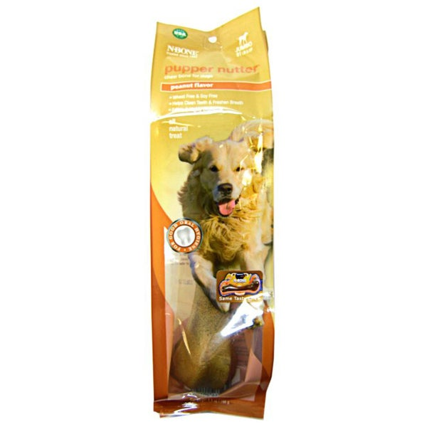 Nbone Jumbo 6.9-oz Pupper Nutter Chew Bone For Dogs