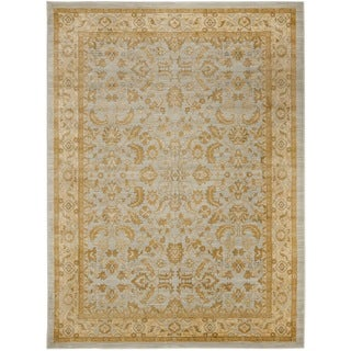 Farahan Light Gray/Gold Oriental Rug