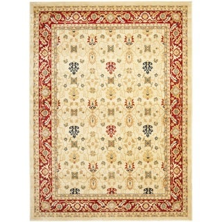 Farahan Cream/ Red Rug