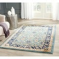 Farahan Light Blue/ Navy Rug