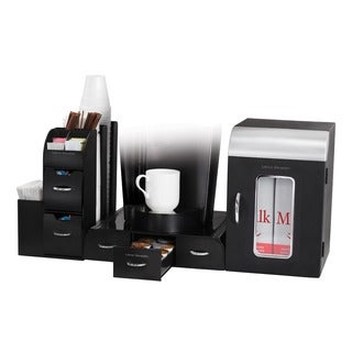 Mind Reader K-cup Serving Station 3-piece Coffee Organizer Set