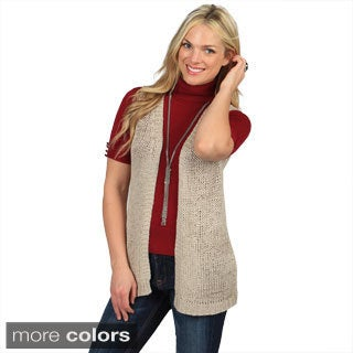 Celebrating Grace Women's 'Soho' Loose-Knit Vest