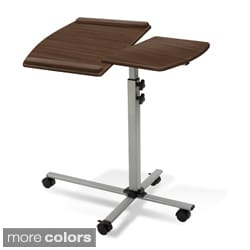Jesper Office Walnut Adjustable Laptop and Reading Table