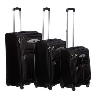 Oleg Cassini 'Light Weights' 3-piece Spinner Luggage Set