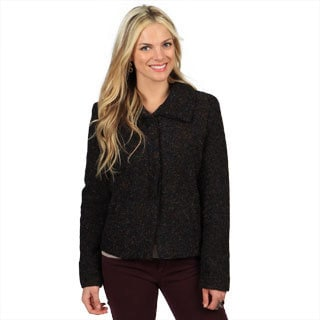 Women's Metallic Sparkle Weave Marilyn Jacket