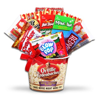 Alder Creek Holiday Movie Night Gift Basket