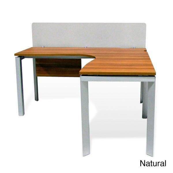 Jesper Office Boomerang Workstation 14956042 Overstock