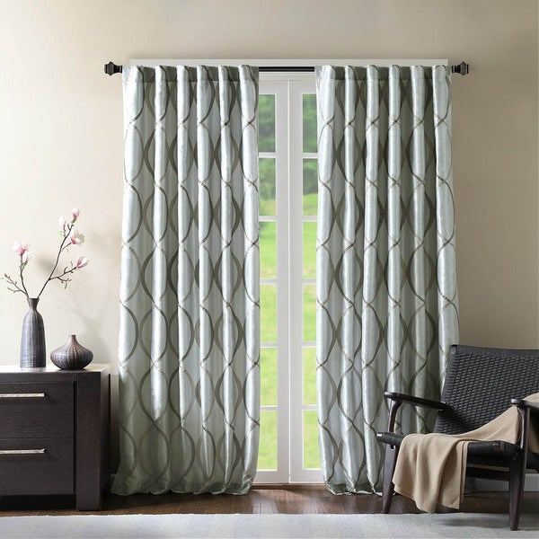 Madison Park Marcel Curtain Panel (As Is Item)