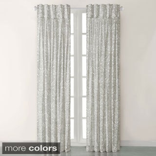 Madison Park Amari Damask Pattern Window Panel Curtain