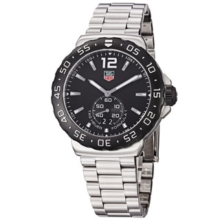 Tag Heuer Men's WAU1110.BA0858 'Formula 1' Black Dial Stainless-Steel Swiss Quartz Watch
