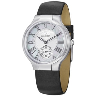 Philip Stein Women's 'Novelties' Mother Of Pearl Dial Quartz Watch