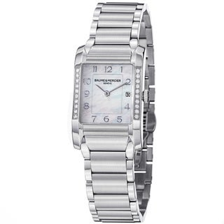 Baume & Mercier Women's 'Hampton' Diamond Stainless Steel Watch