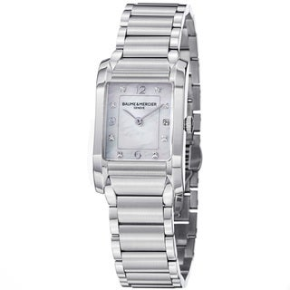 Baume & Mercier Women's M0A10050 'Hampton' Mother Of Pearl Dial Quartz Watch