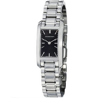 Burberry Women's BU9501 'Heritage' Black Dial Stainless Steel Quartz Watch