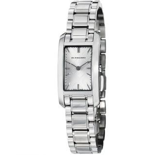 Burberry Women's BU9500 'Heritage' Silver Dial Stainless Steel Quartz Watch