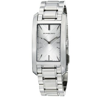 Burberry Women's BU9400 'Heritage' Silver Dial Stainless Steel Watch
