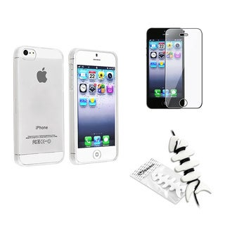 BasAcc Clear Slim Case/ Protector/ Wrap for iPhone 5