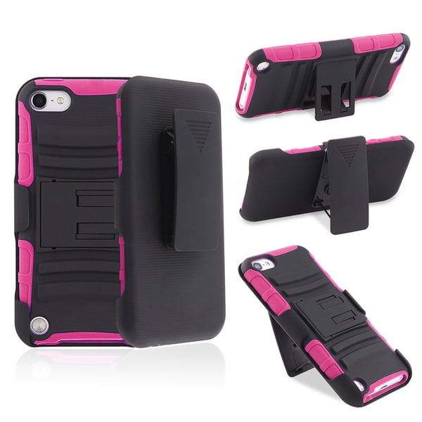 BasAcc Hybrid Case with Holster for Apple iPod Touch Generation 5