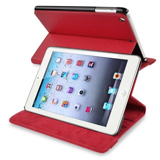 BasAcc Red Leather Case for Apple iPad Mini