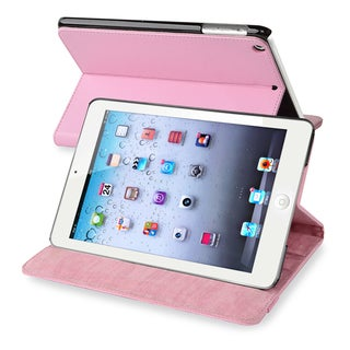 BasAcc Light Pink Leather Case for Apple iPad Mini