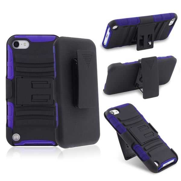 BasAcc Hybrid Stand Case/ Holster for Apple iPod Touch 5th Generation