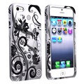 BasAcc Butterfly Monochrome Snap-on Case for Apple iPhone 5