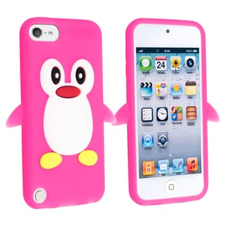 BasAcc Pink Penguin Silicone Case for Apple� iPod touch Generation 5