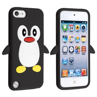 BasAcc Black Penguin Silicone Case for Apple� iPod touch Generation 5