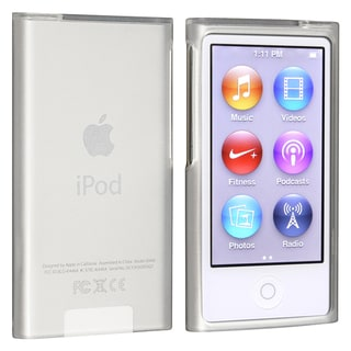 INSTEN White TPU Rubber iPod Case Cover for Apple iPod nano Generation 7