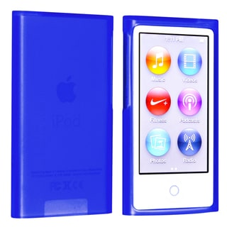 BasAcc Dark Blue TPU Rubber Case for Apple� iPod nano Generation 7