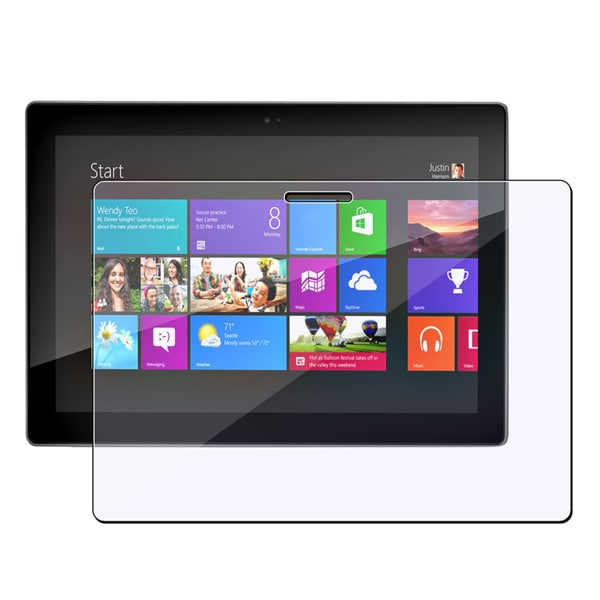 INSTEN Clear Screen Protector for Microsoft Surface 8 Pro/ Surface RT