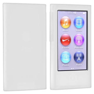 BasAcc Clear Silicone Skin Case for Apple iPod nano Generation 7