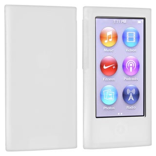 BasAcc Clear Silicone Skin Case for Apple� iPod nano Generation 7