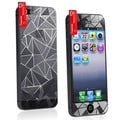 BasAcc 3D Diamond Front/ Back Screen Protector for Apple iPhone 5