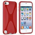 BasAcc Red TPU Rubber Case for Apple� iPod touch 5th Generation