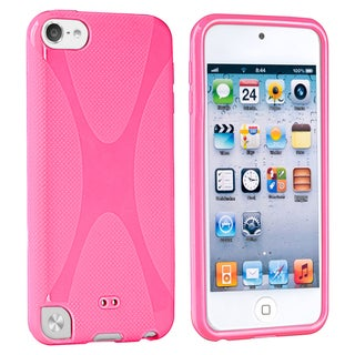 BasAcc Pink TPU Rubber Case for Apple� iPod touch 5th Generation