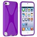 BasAcc Purple TPU Rubber Case for Apple� iPod touch 5th Generation