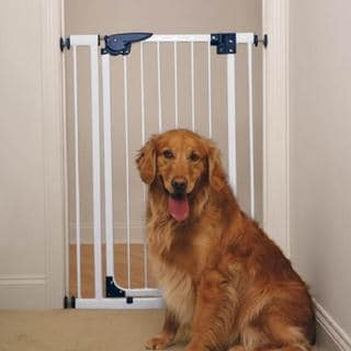 Pet Studio Pressure Mounted X-Tall White Gate