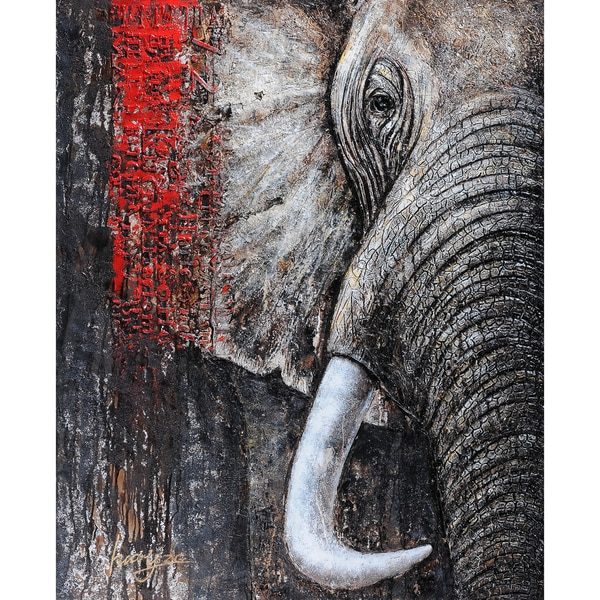 Ideas For Teenagers Elephants Elephant Painting On Canvas Ads
