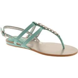 Women's BCBGeneration Allandra Cali Blue Beach Patent