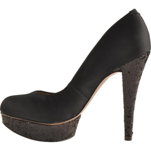 Women's BCBGeneration Capone Black Satin/Party Glitter